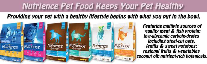 Telling Tails Chelmsford Pet Food Supplies Wellbeing Nutrience Dog Food Cat Food